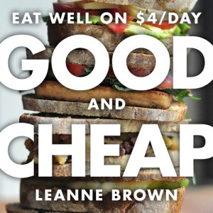 Leanne Brown's Good and Cheap Book Cover